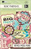 K&Company Die-Cut Cardstock, Kelly Panacci Blossom