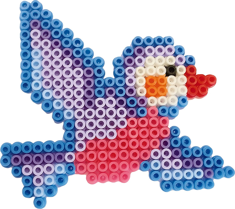 Multi-Colour SES Creative 6257 Birds Beedz Iron-on Beads