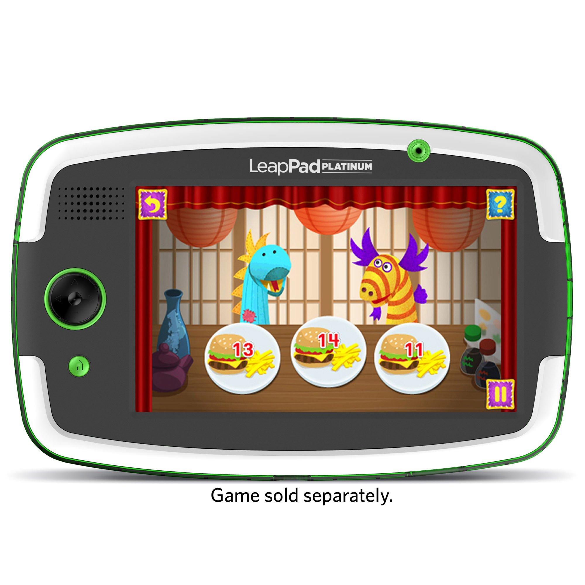 LeapFrog LeapPad Platinum Kids Learning Tablet, Green by LeapFrog. (Image #7)