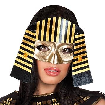 Faraón esJuguetes Adulto Y Juegos ÚnicaAmazon Antifaz Egipcio hxdCBtQsr
