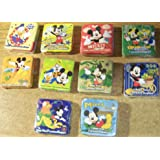 Disney Magic Pop Up Washcloth Towel - Mickey Mouse - Varied Images