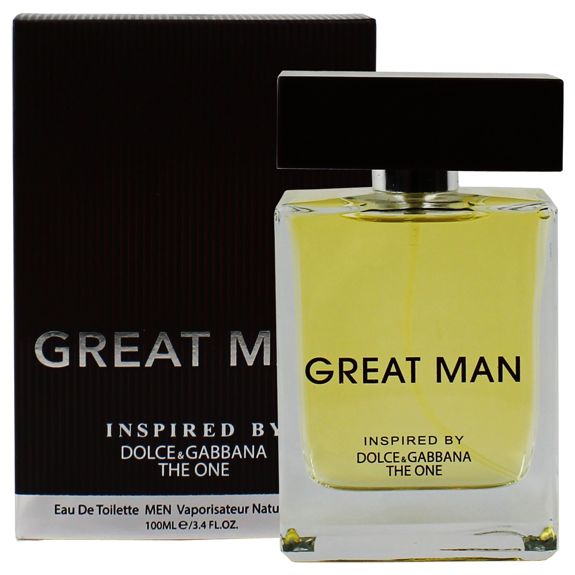 16d5dafd4b8f64 Amazon.com   Great Man For Men, Eau De Toilette 3.3 Fl. Oz.  100 ml -  Inspired By The One Cologne   Beauty