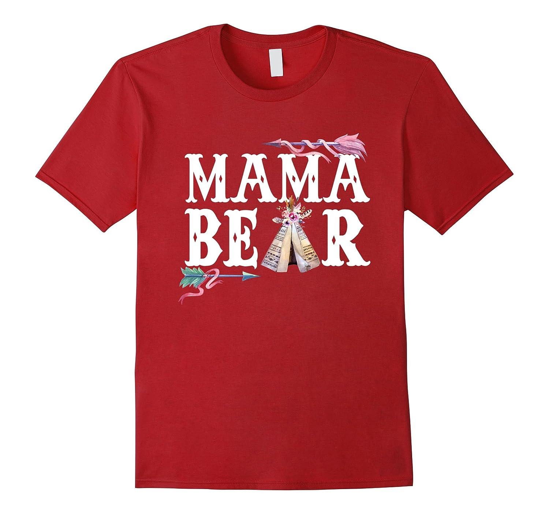 Lovely Mama Bear T shirts-TH