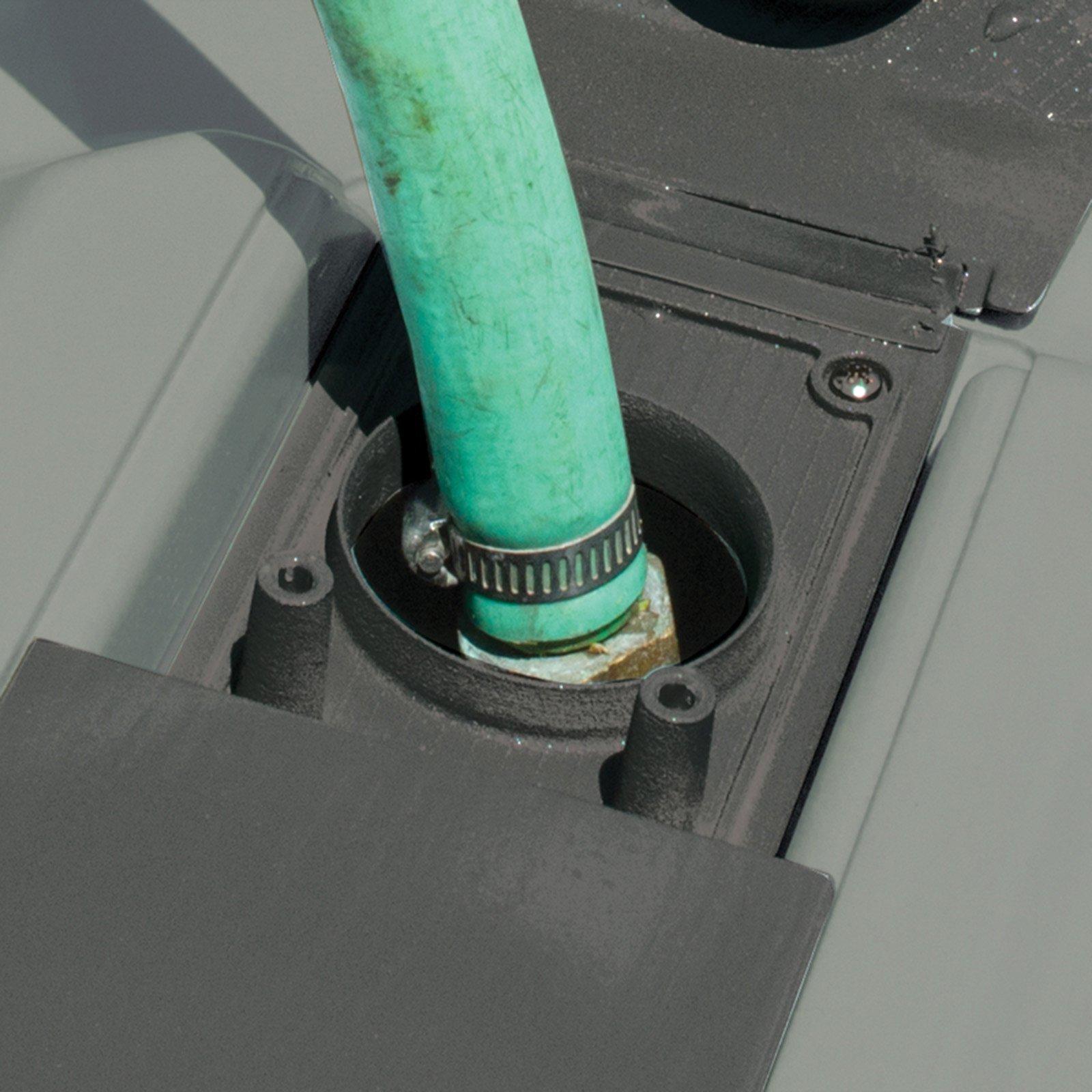 SmartTote2 RV Portable Waste Tote Tank - 2 Wheels - 35 Gallon -Thetford 40503 by SmartTote 2 (Image #2)
