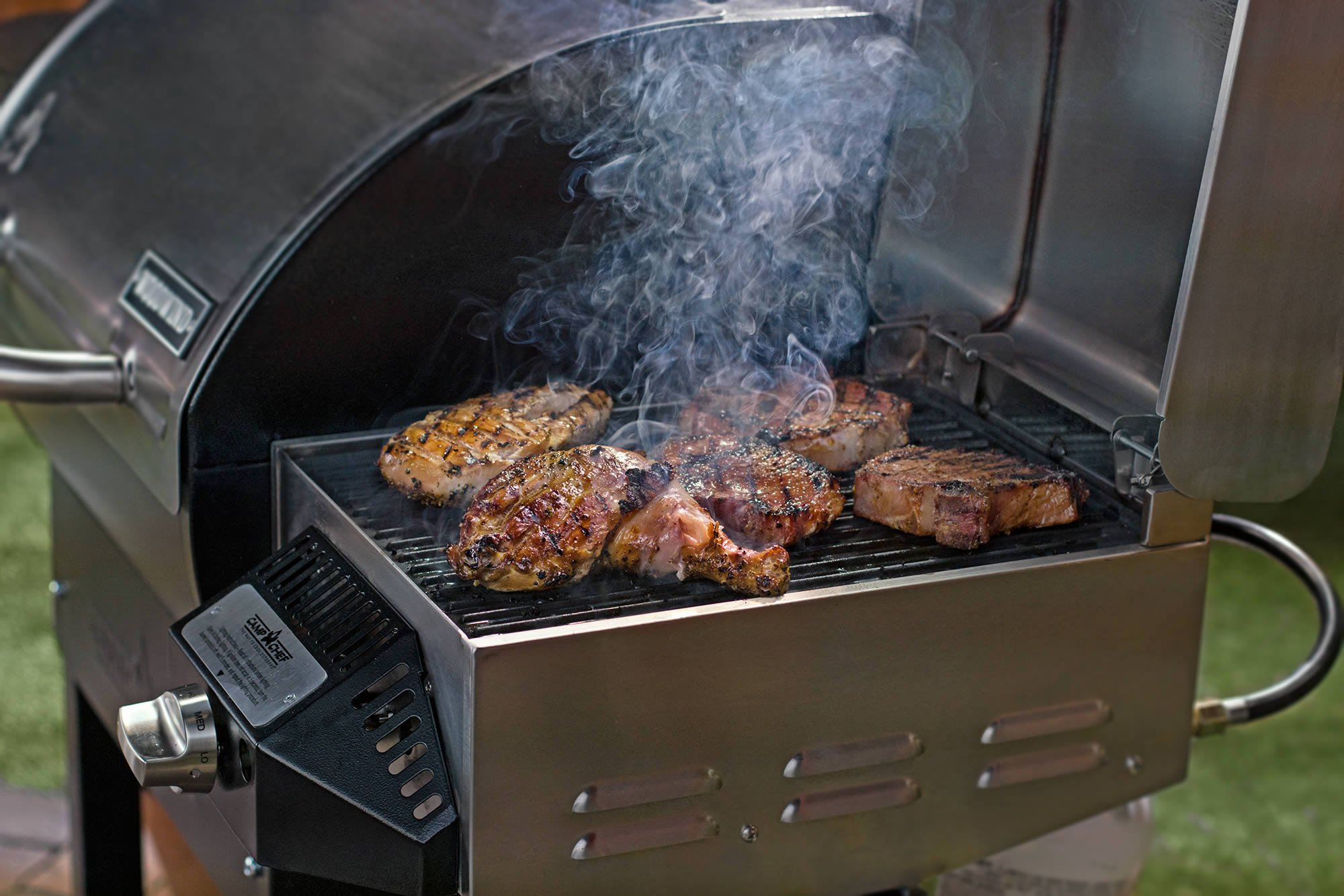 Camp Chef Woodwind Pellet Grill with Sear Box - Smart Smoke Technology - Ash Cleanout System by Camp Chef (Image #9)