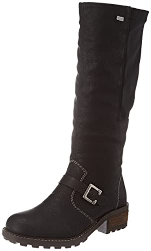 Rieker Damen Y0481-00 Kurzschaft Stiefel