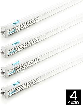 4 Pack Hyperikon LED T5 22W Light