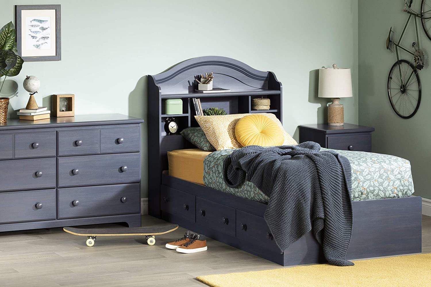 Blueberry Summer Breeze Collection South Shore Furniture 6 Drawer Dresser