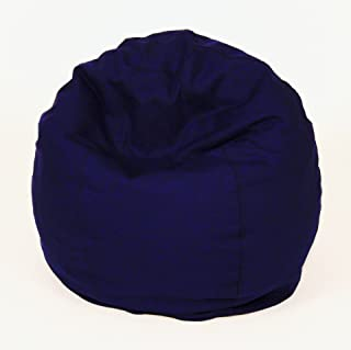 product image for Bean Products Comfy Bean Beanbag Small Cotton - Navy Blue