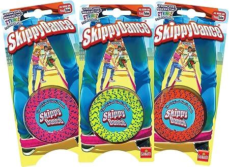 Gira; salta; baila; skippydance es el juego de la goma de toda la vida ahora mucho más divertido,Est