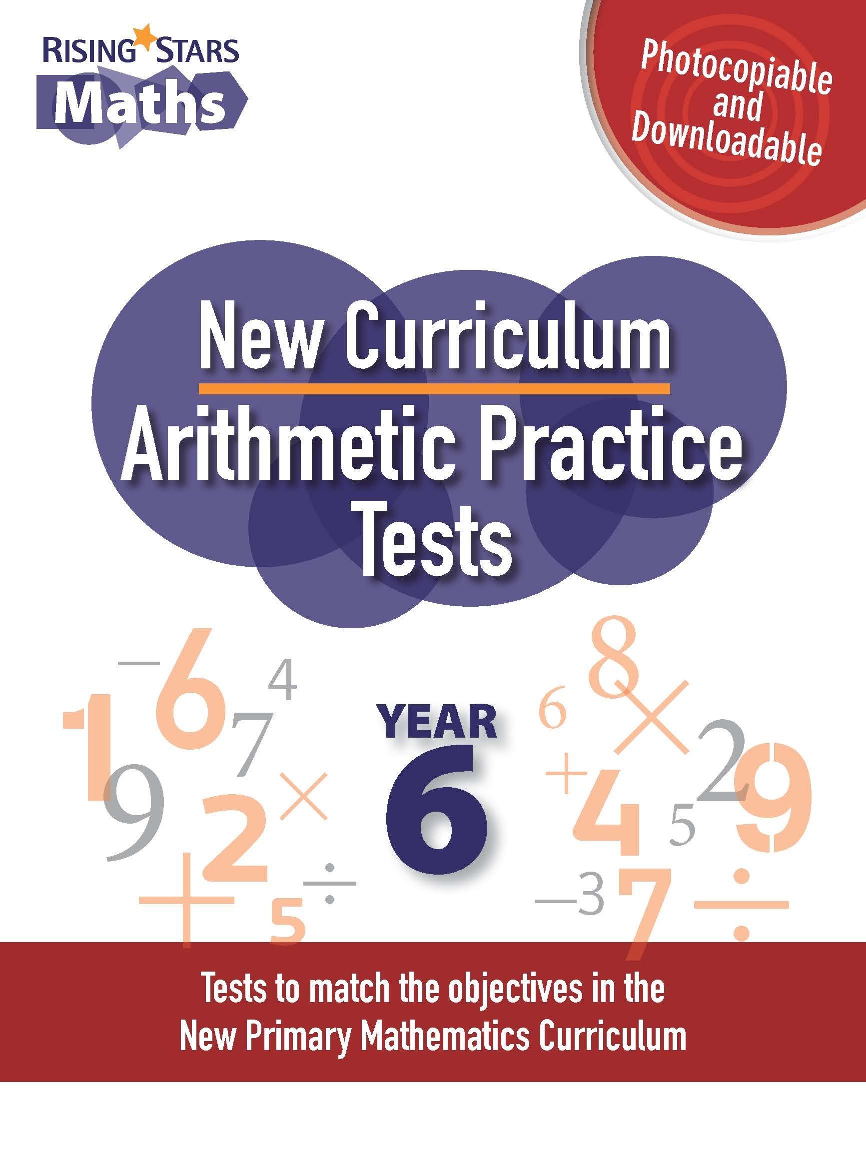 New Curriculum Arithmetic Practice Tests Year 6: Amazon.co.uk ...