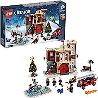 Lego 6213405 Lego Creator Expert Lego Creator Expert Brandweerkazerne In Winterdorp - 10263, Multicolor