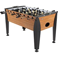 """Atomic Pro Force 56"""" Foosball Table with Internal Ball Return and Ball Entry, Leg Levelers, and Heavy-Duty Legs"""
