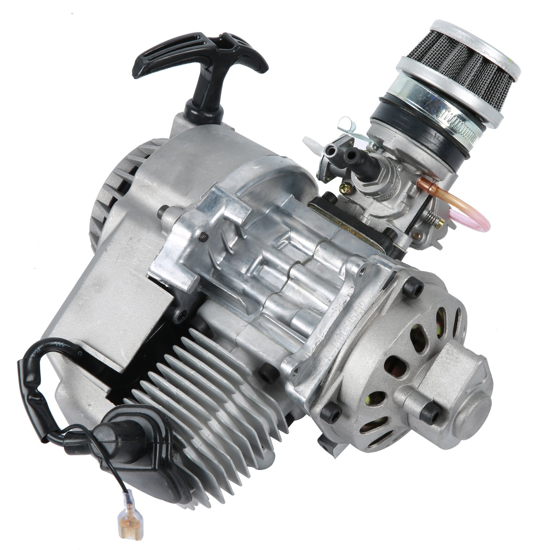 YaeTek 49cc 2 stroke Engine Motor for Mini Pocket Bike Scooter Dirt Bikes ATV Quad Motorized Bicycle Yaemart Corportation RA-0041