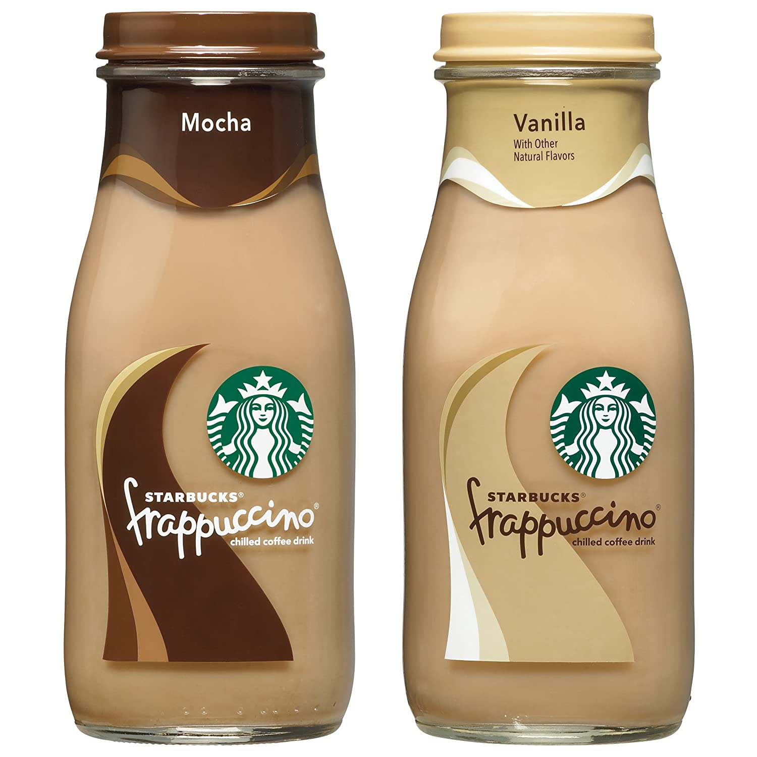 Starbucks Frappuccino 2 Flavor Variety Pack 9 5 Fl Oz 15 Count