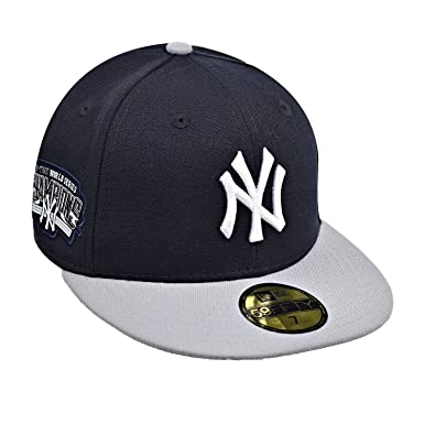 7b8fbdad5 New Era New York Yankees 59Fifty Men's Fitted Hat Cap Navy Blue/Grey/White  80462371