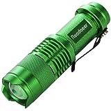 Readaeer® 超小型 LED 懐中電灯 ハンディライト ズームフォーカス機能付 防水 防災