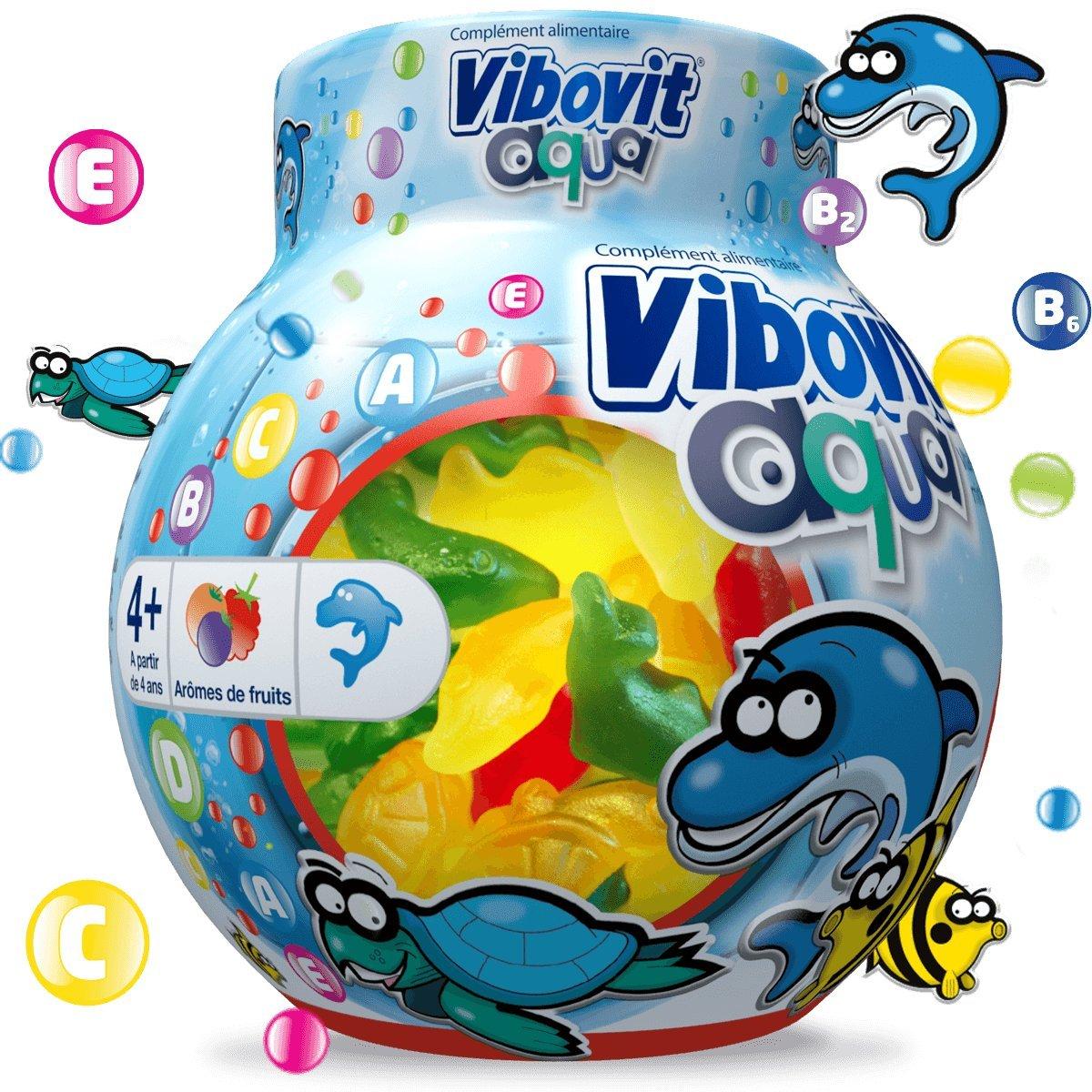 Vibovit Aqua gomas para niños de 4 a 12 años: Amazon.es: Salud y cuidado personal