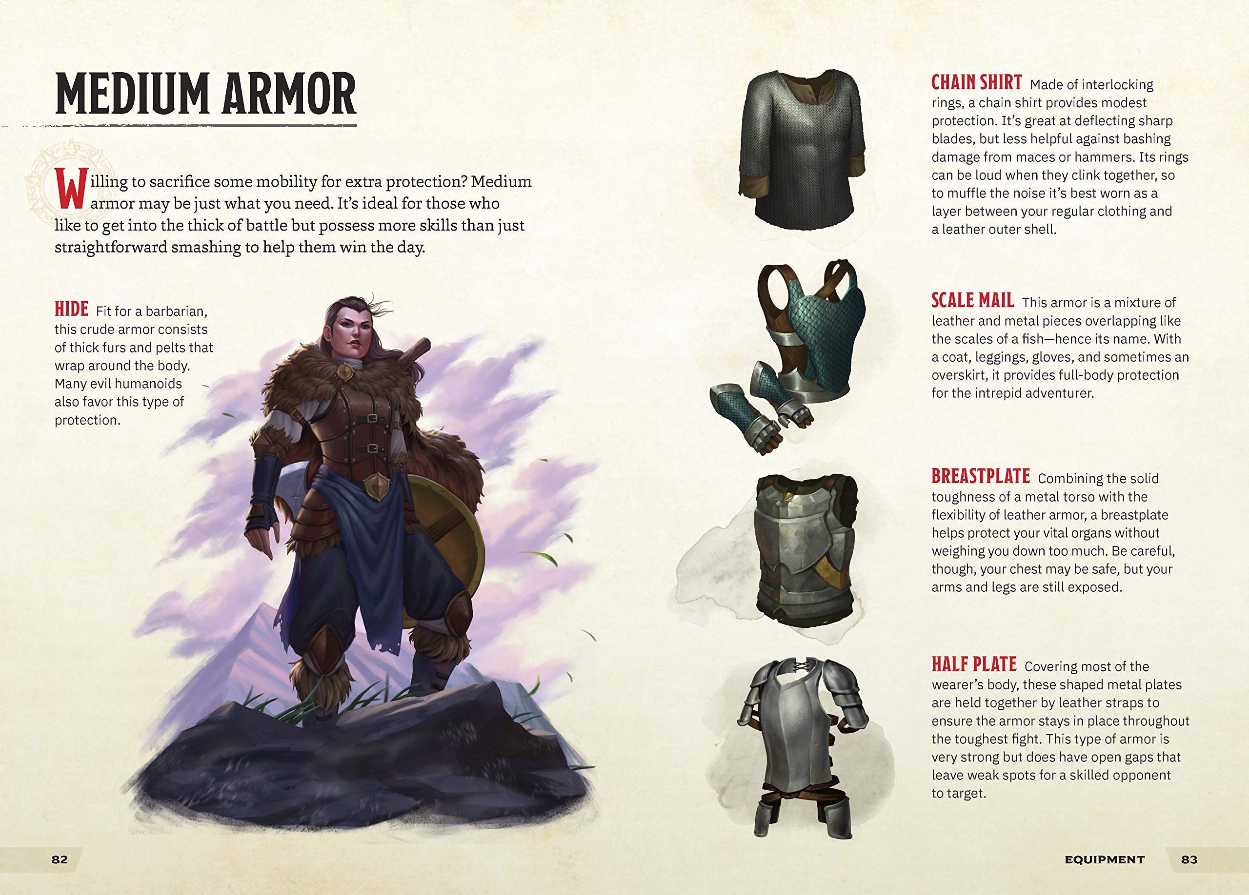 Warriors & Weapons: A Young Adventurer's Guide (Dungeons