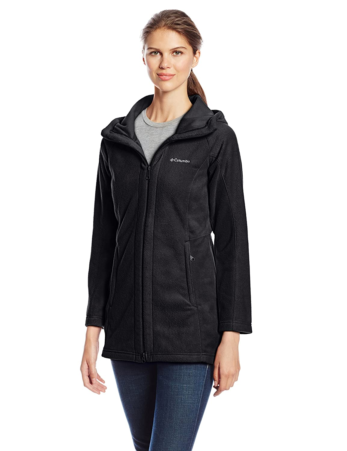 Columbia Benton Springs II Long Hoodie Jacket at Amazon Women&39s