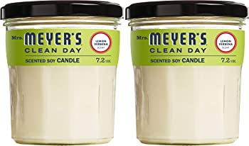 2-Pack Mrs. Meyers Clean Day Scented Soy Candle