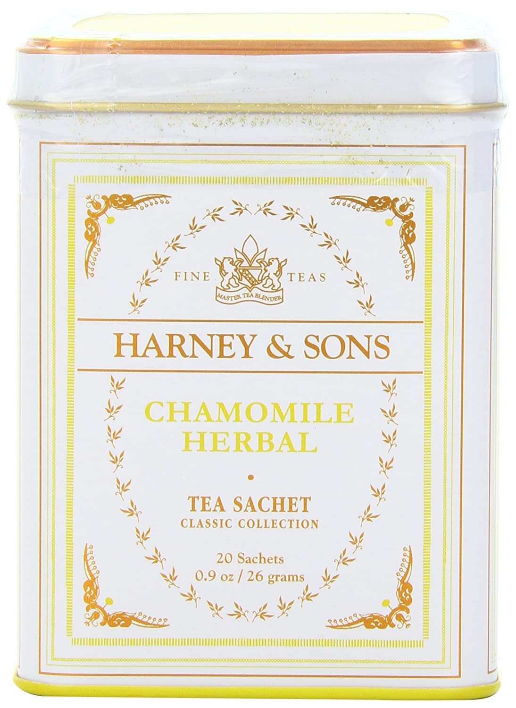 Harney & Sons Herbal Tea, Chamomile, 20 Sachets