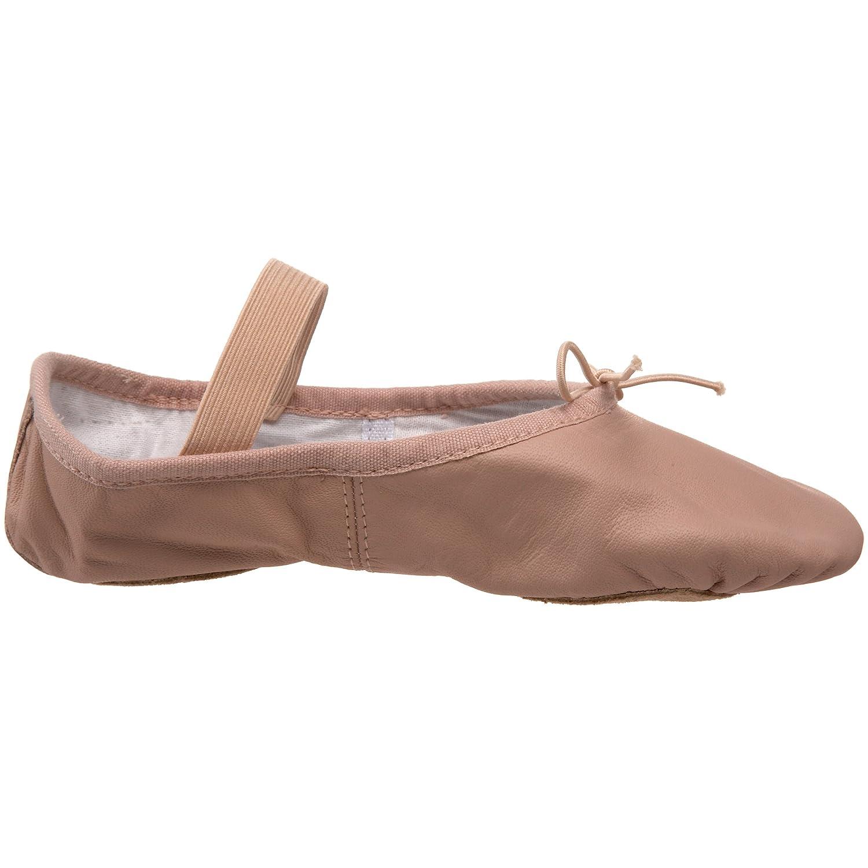 Bloch Dance Girls Dansoft Split Sole Leather Ballet Slipper/Shoe