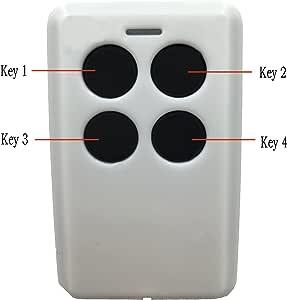 xihada y Rolling Código de código fijo para puerta de garaje mando ...