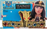 Bristol Novelty 74261 Egyptian Headband One Size  sc 1 st  Amazon UK & Egyptian Cobra Headband Cleopatra Greek Goddess Jewel Costume Fancy ...