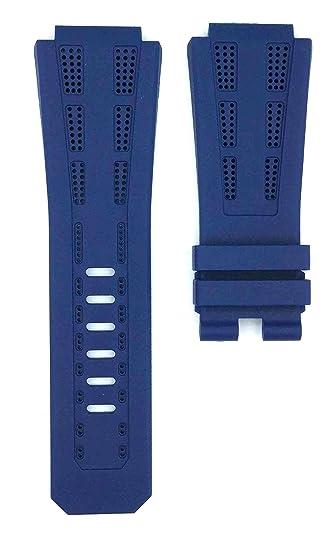 eec290bf6627e AP Lebron James 26210OI Rubber Watches Band Strap (Blue): Amazon.ca ...