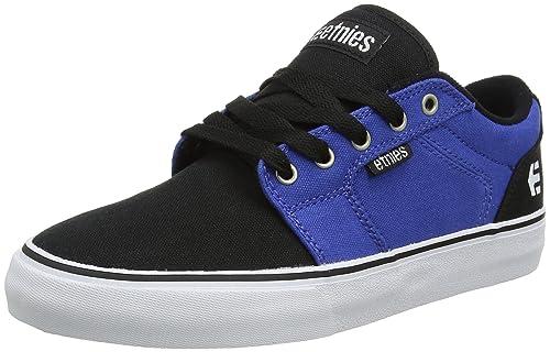 Etnies Barge Ls, Zapatillas de Skateboard Hombre, Azul (Navy Blue), 43 EU (9 UK)