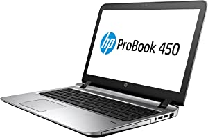 "HP 2WM46UT#ABA Probook 450 G3 15.6"" Notebook - Windows - Intel Core i7 2.5 GHz - 8 GB RAM - 256 GB SSD - Black"