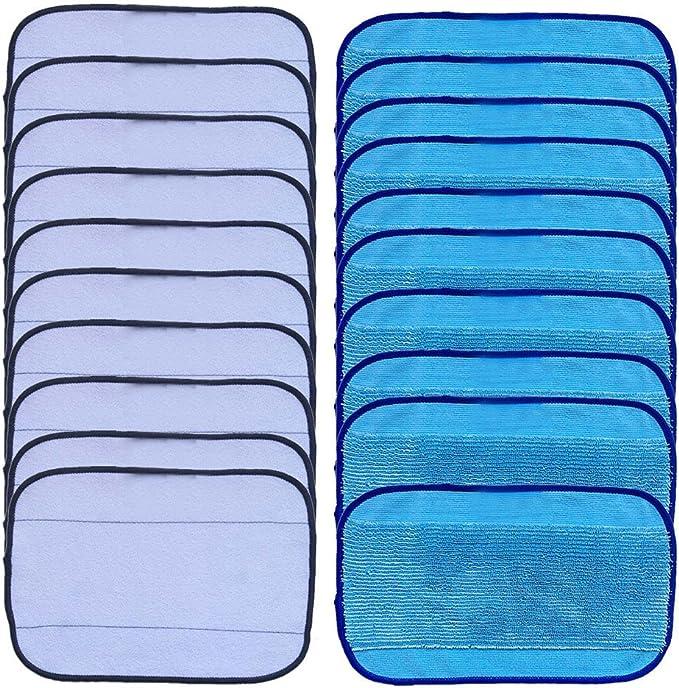 Nass Wischtücher Wischen Für Irobot Braava 380 380T 320 Blau Zubehör Trocken