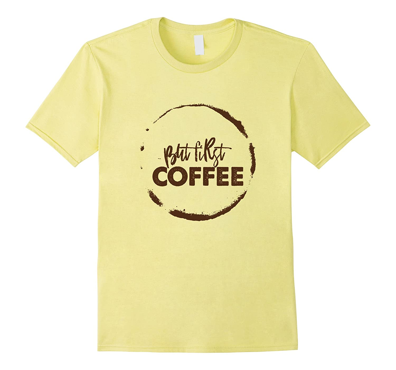 But first Coffee Funny Nerd and Office Worker T-Shirt-TJ