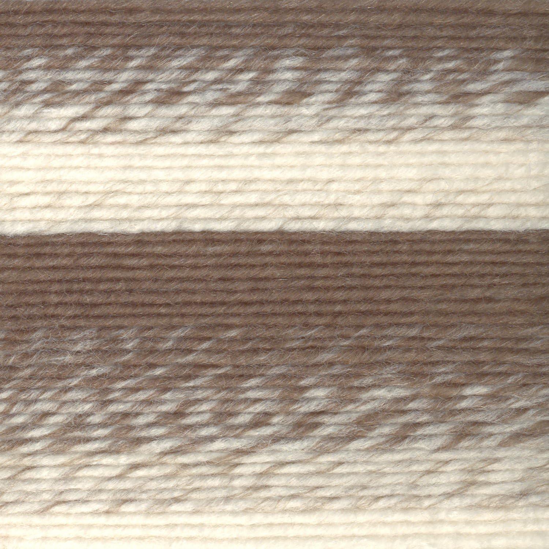 Cream//Black One Size Lion Brand Yarn 826-201 Scarfie Yarn
