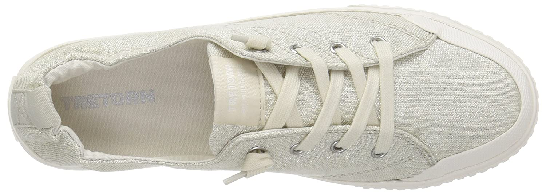 Tretorn Women's MEG4 Sneaker B074QVYX1N 7 B(M) US|Angora
