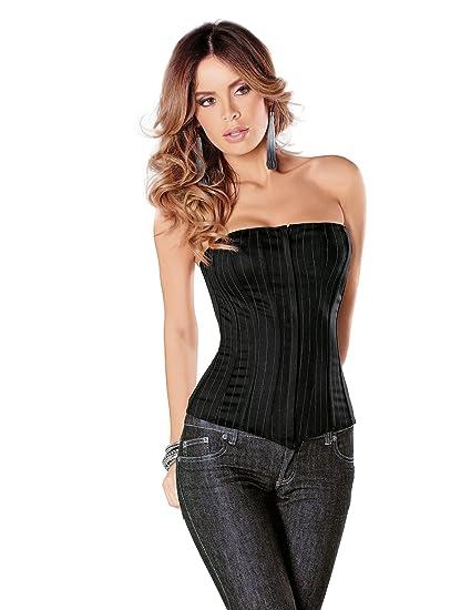 e2d82abc8b Tesa by Escante Women s Apprentice Zip Front Corset  90070  Amazon.co.uk   Clothing