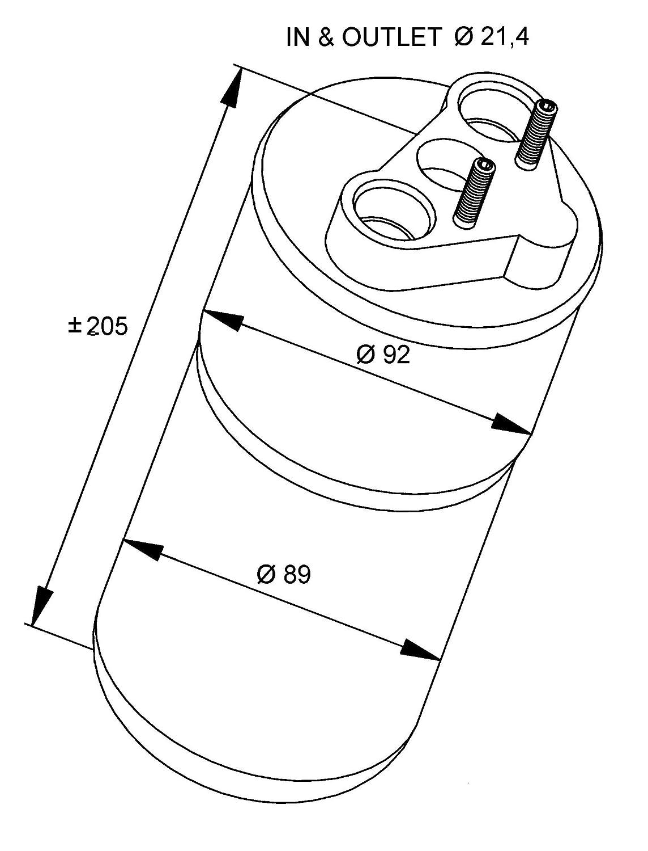 NRF 33317 Trockner Klimaanlage