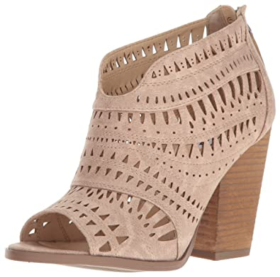 not rated Groove Thang Open Toe Laser Cut Bootie