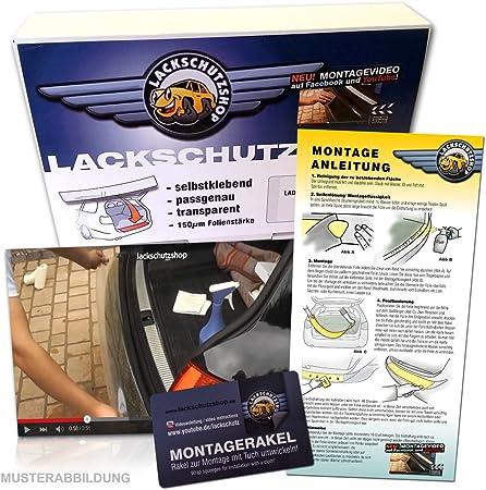 Lackschutzfolie Ladekantenschutz Passend Für Modell Siehe Beschreibung In Transparent 150µm Auto