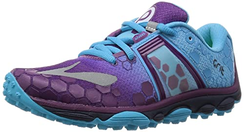 7485c2e33e5 Brooks Women s s PureGrit 4-120196 1B Trail Running Shoes Purple  (Phlox Aquarius