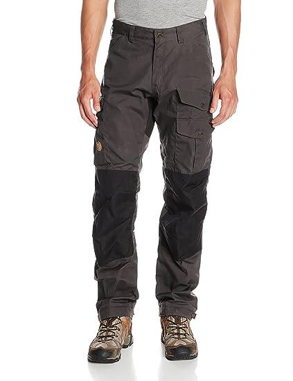 Fjallraven Men's Vidda Pro Trousers Regular, Dark Grey, ...