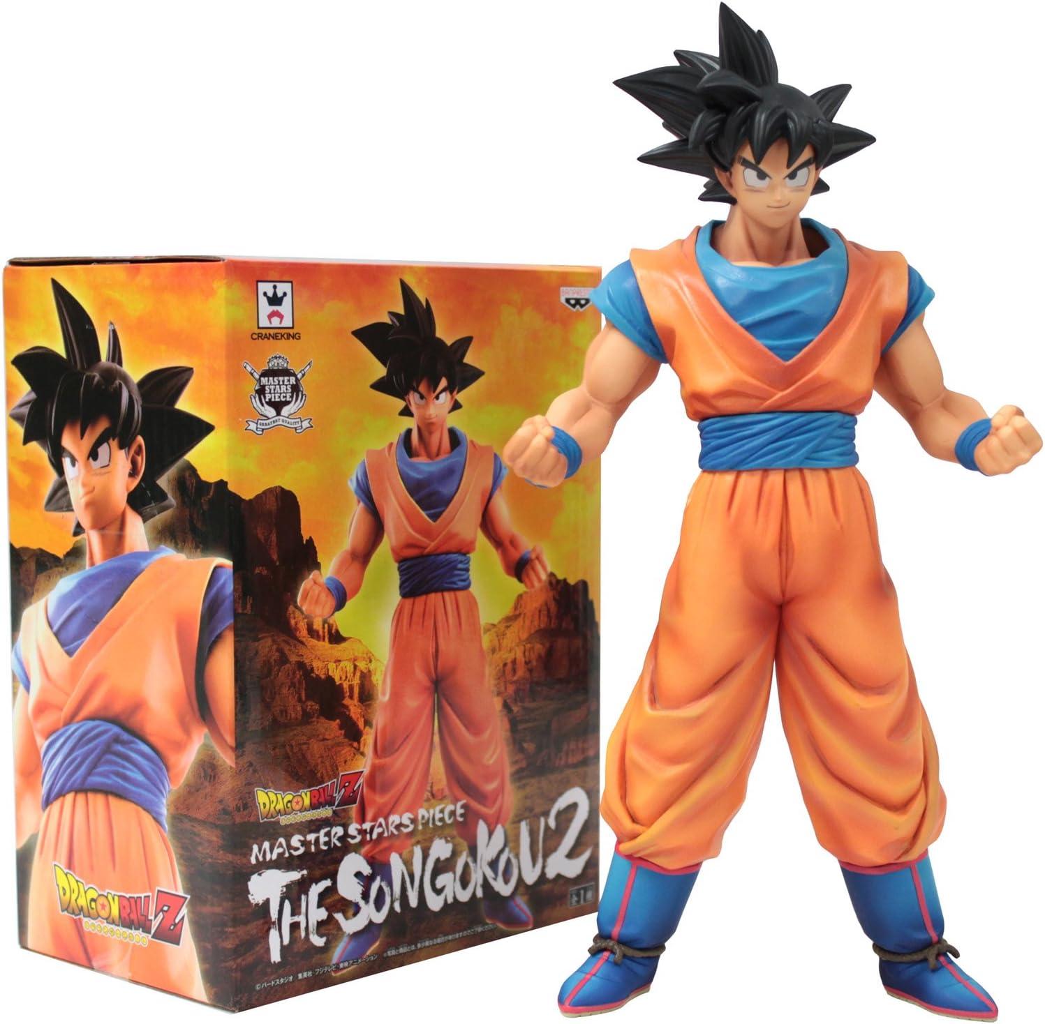 Dragon Ball Z DBZ Figure S.SAIYAN SON GOKU MSP Master Stars Piece Banpresto NEW