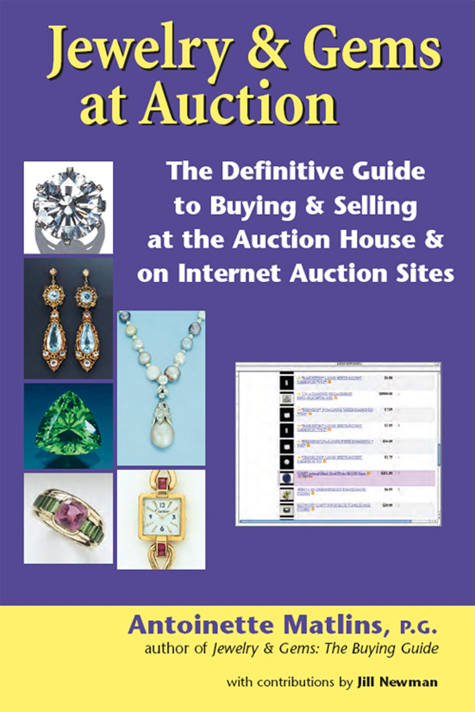 Jewelry U0026 Gems At Auction: The Definitive Guide To Buying U0026 Selling At The Auction  House U0026 On Internet Auction Sites: Antoinette Matlins: 9781683361398: ... Part 11