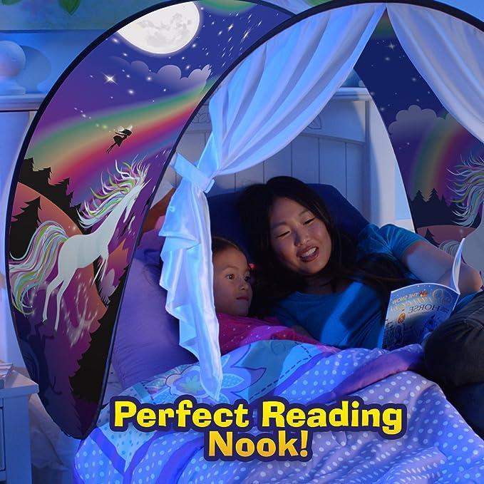 Zdan.uu Magical Dream Tents Bed Canopy Children Reading Play Tents Kids Tent Bedroom Decoration*1