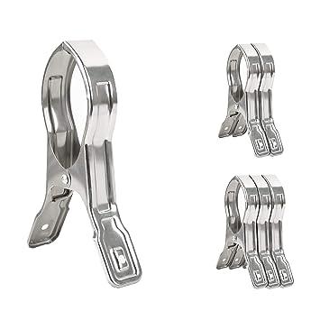 Amazon.com: BAOEF - Tendedero de acero inoxidable resistente ...