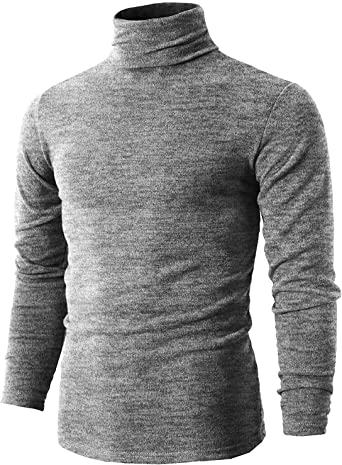 Romanstii Camiseta de Manga Larga para Hombre Jersey Básico de ...