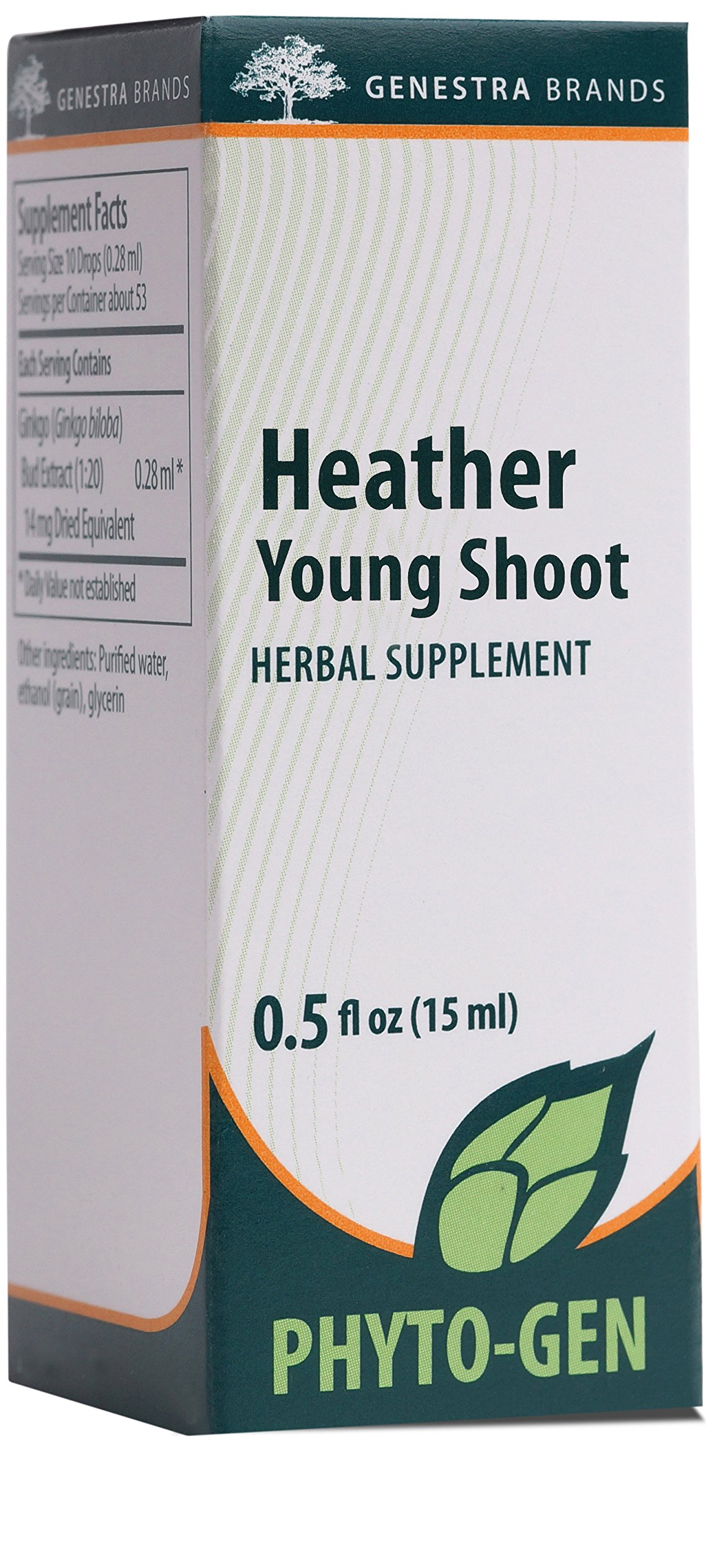 Genestra Brands - Heather Young Shoot - Herbal Supplement - 0.5 fl oz (15 ml)