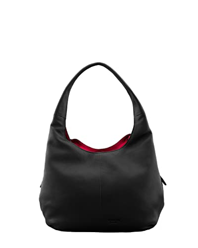 Yoshi Meehan Leather Shoulder Bag Black  Amazon.co.uk  Shoes   Bags 68dc20395d