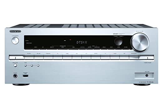 79 opinioni per Onkyo TX-NR646 Sintoamplificatore Network 7.2, 7 x 160 W, 1 Porta USB, Argento